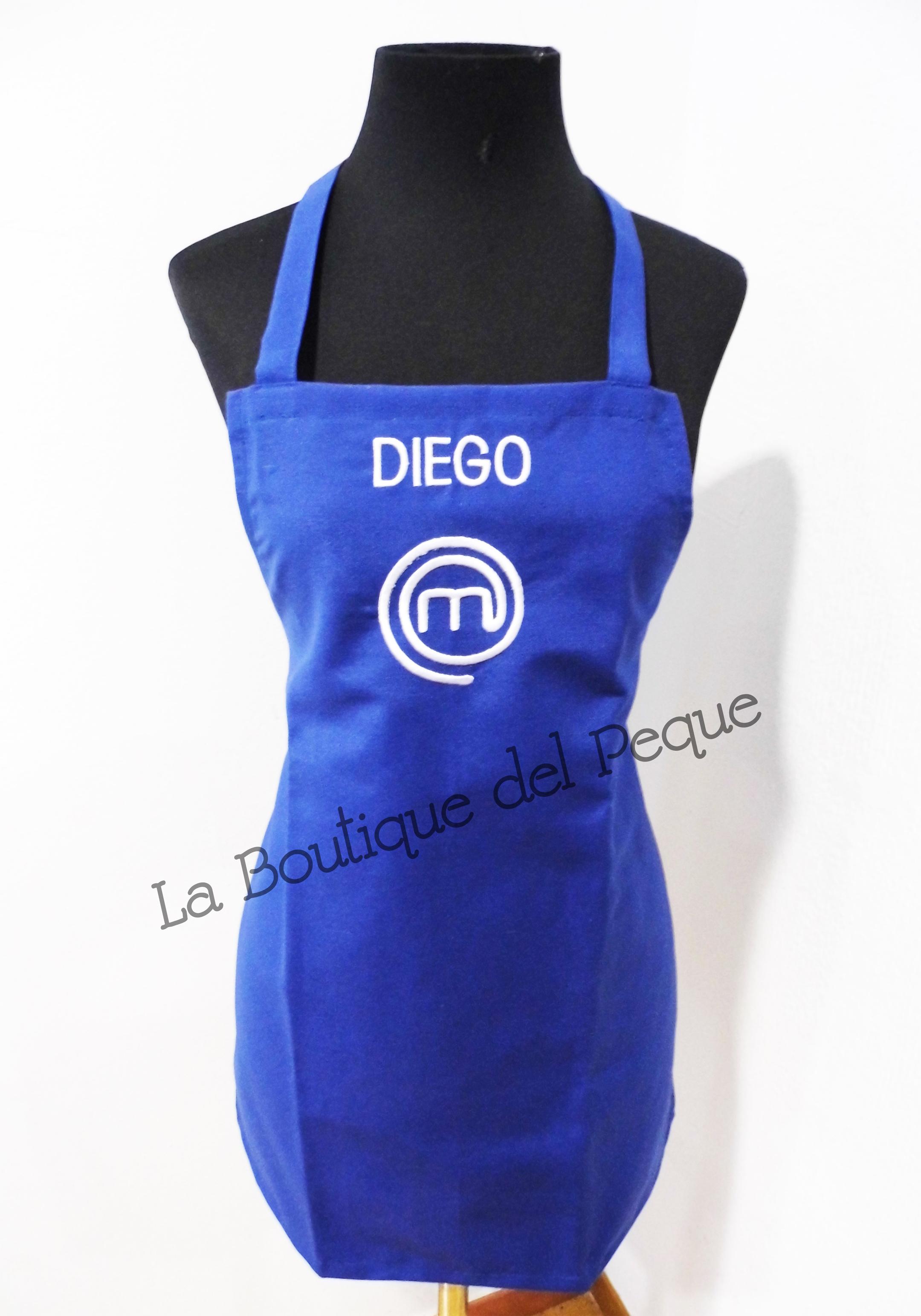 Delantal masterchef personalizado con nombre la boutique - Delantal masterchef personalizado ...